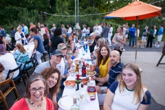 The 7th Summer Pizza Night hosted by Greiser's Coffee & Market in Easton, CT.
